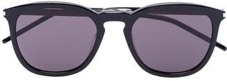 Saint Laurent Eyewear Round-Frame Tinted Sunglasses