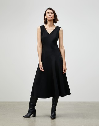 Lafayette 148 New York Petite Punto Milano Delfina Dress