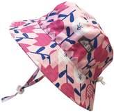 Twinklebelle Kids 50+ UPF Bucket Sun Hat, Size Adjustable Aqua Dry