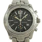 Tag Heuer Link Lady Black Steel Watches