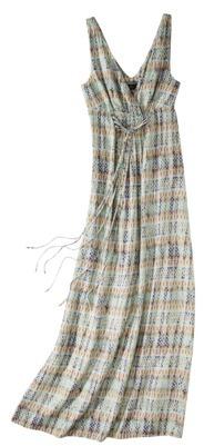 Mossimo Women's Crossover V-neck Maxi Dress - Assorted Prints