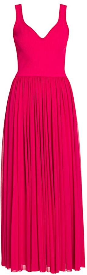 Alexander McQueen Barb Midi Dress