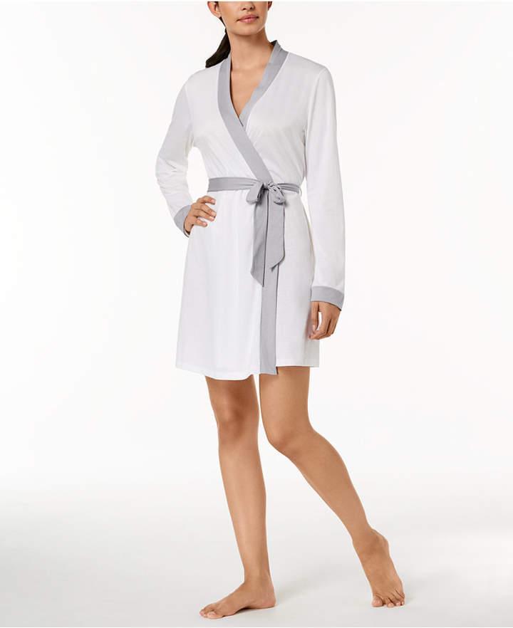 Cosabella (コサベラ) - Cosabella Bella Bridal Contrast-Trim Robe AMOBD8091, Online Only