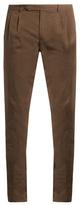 Boglioli Slim-leg Stretch-cotton Chino Trousers