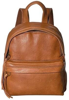 Madewell Mini Lorimer Backpack (English Saddle) Backpack Bags