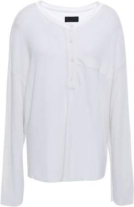 RtA Waffle-knit Cotton Top