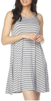 Minx Striped Grey Dress