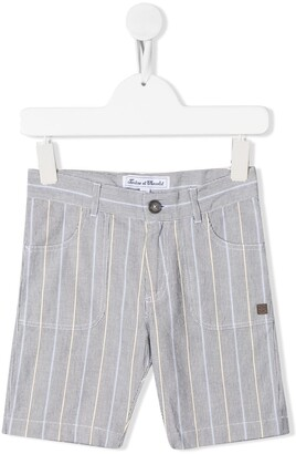 Tartine et Chocolat Striped Bermuda Shorts
