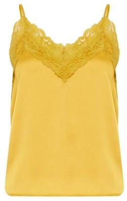 Ichi Honey Shelly Top - 38 - Yellow