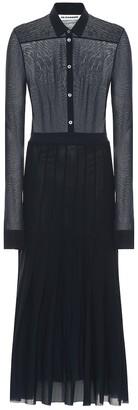 Jil Sander Knit shirt dress