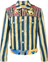 Fendi John Booth stripe denim jacket