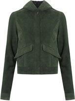 Talie Nk - leather jacket - women - Leather - 40
