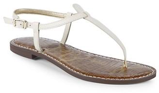 Sam Edelman Gigi Modern Leather Thong Sandals