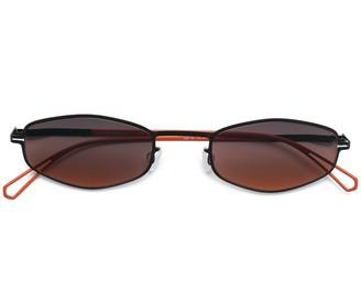 Mykita x Bernhard Willhelm retro shaped sunglasses
