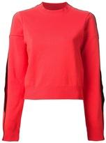 Maison Martin Margiela overlapping seam sweatshirt