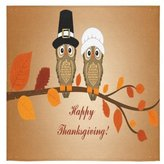 """Thanksgiving Towel Happy Thanksgiving Day Custom Beach Hotel Travel Washcloth Hand Towel Warmer Soft and Comfortable 80% Polyester 20% Cotton, (13"""" x 13"""")"""
