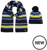 Lyle & Scott Boys Knitted Stripe Set