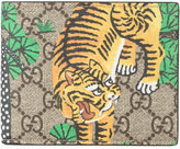 Gucci GG Bengal print billfold wallet - men - Leather - One Size