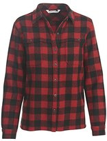 Woolrich Women's Wool Buffalo Stag Shirt