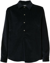 A.P.C. corduroy shirt - men - Cotton/Spandex/Elastane - M