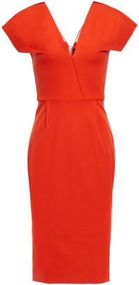 Roland Mouret Cotton-twill Dress