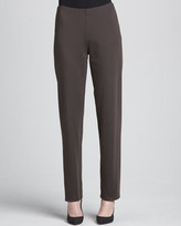 Eileen Fisher Heavyweight Rayon Slim Pants, Women's