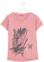 Zadig & Voltaire Kids - teen floral print t-shirt - kids - Cotton - 16 yrs