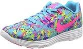 Nike WOMENS LUNARTEMPO 2 PRINT GAMMA BLUE/VOLT/PERSIAN VIOLET/PINK BLAST 831419-406 - Size 8