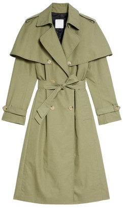 Sandro Cotton Trench Coat