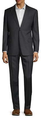 Armani Collezioni Classic Fit G-Line Wool Suit