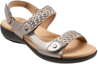 Trotters Leather Walking Sandals - Teresa