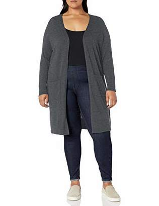 Amazon Essentials Plus Size Lightweight Longer Length Cardigan Sweater