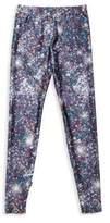 Girl's Night Sparkle Printed Leggings