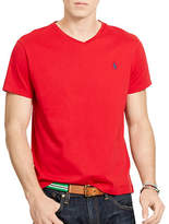 Polo Ralph Lauren Medium Fit Short Sleeved Cotton Jersey V Neck