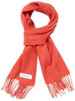 Saint Laurent Rectangular Wool Scarf