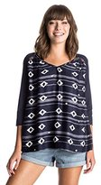 Roxy Women's Outer Banks 3/4 Sleeve Top
