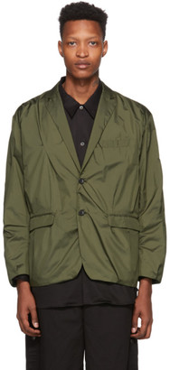 N.Hoolywood Khaki Random Tacked Jacket