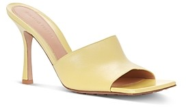 Bottega Veneta Women's Square Toe High Heel Sandals