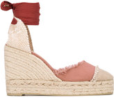 Castaner 'Caralina' wedge sandals - women - Cotton/Leather/rubber - 36