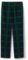 Classic Boys Husky Iron Knee Plaid Cadet Pant-Navy Blackwatch Plaid