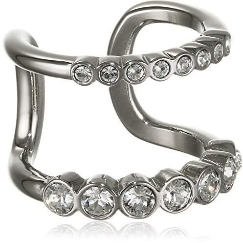 Dyrberg/Kern Women stainless steel Clear Crystal FASHIONRING