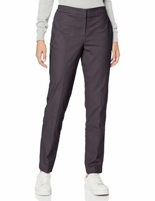 Meraki Amazon Brand Women's Stretch Straight Leg Regular Fit Trousers