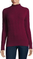 ST. JOHN'S BAY St. John's Bay Turtleneck Pullover Sweater