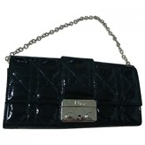 Christian Dior Lady Black Patent leather Clutch bags