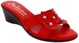 ITALIANA BY ITALIAN SHOEMAKERS Italiana By Italian Shoemakers Womens Laney Wedge Sandals