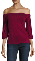Bailey 44 Elasticized Off Shoulder Top