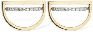 Delfina Delettrez Gold & Diamond Tourbillon Stud Earrings