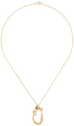 LOVENESS LEE Pelecy abstract-pendant necklace