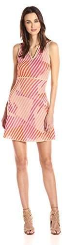 M Missoni Women's Geometric Jacquard Vneck Dress