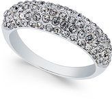 Charter Club Silver-Tone Pavé Cluster Statement Ring, Only at Macy's